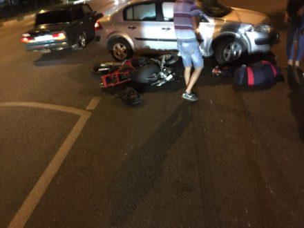 ДТП в Севастополе. И снова мотоциклист под колесами автомобиля