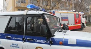 14 июня в Севастополе - выставка спецтехники в честь 300-летия российской полиции