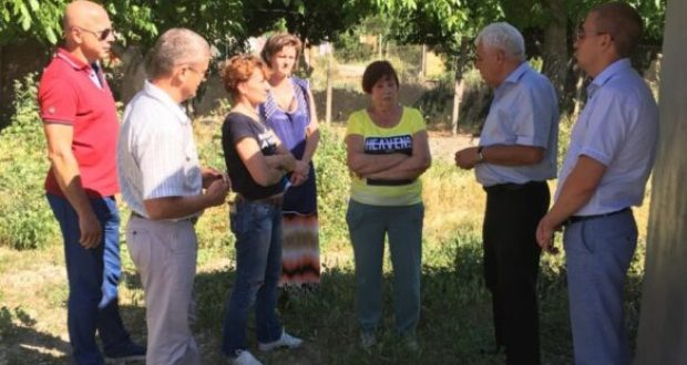В проблемах Черноречья разбираются севастопольская «Единая Россия» и «Доброволец»
