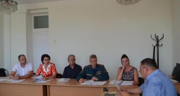 Первое заседание попечительского совета Севастопольского детского приюта
