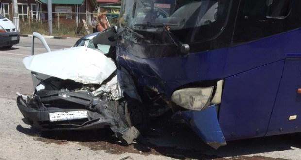 Смертельное ДТП в Алуште. Погиб водитель «Лады»
