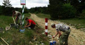 На территории памятников природы Крыма устанавливают охранные знаки
