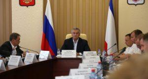 Сергей Аксёнов провёл совещание с представителями Ассоциации перевозчиков Крыма