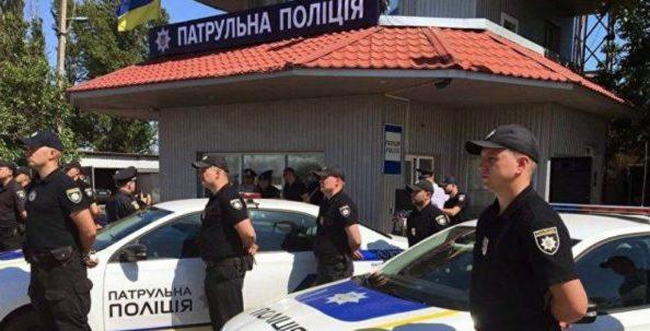 """На Херсонщине открыли пост """"патрульной полиции Крыма"""""""