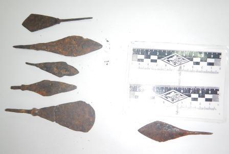 В Крым пытались провезти более 300 монет и два десятка наконечников для стрел