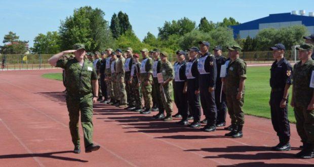 В Евпатории - Чемпионат по военно-прикладному виду спорта