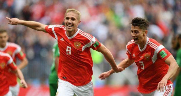 5 - 0! Есть первая игра России. Есть первая победа