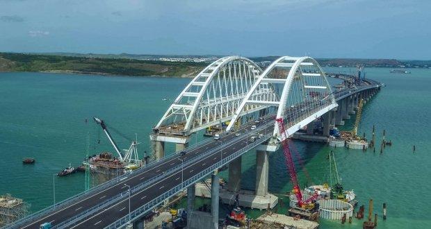 Погружена последняя свая железнодорожной части Крымского моста