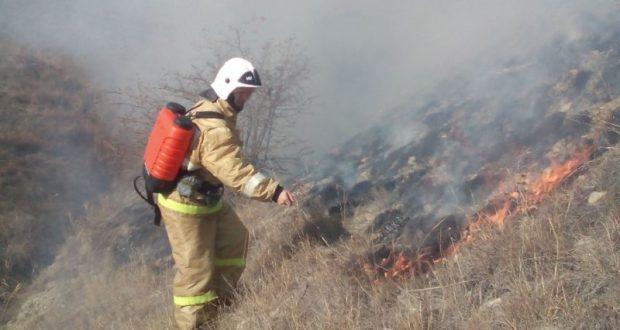 «Выходные удались». За трое суток в Крыму – 128 загораний на открытой территории
