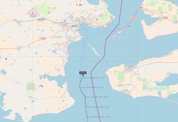 СМИ: российские пограничники начали действовать в Азовском море более жестко