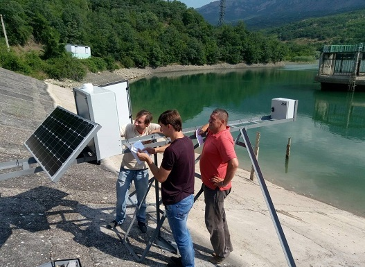 В Крыму установили ещё 14 систем мониторинга состояния гидротехнических сооружений
