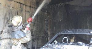 В Крыму – очередной сгоревший автомобиль
