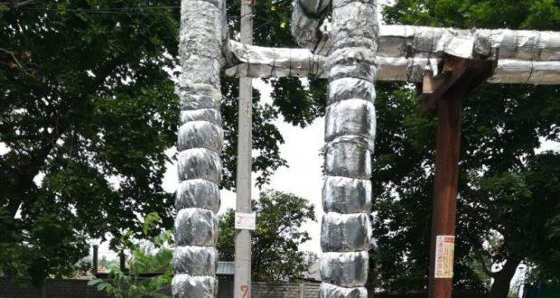 В Балаклаве восстановили изоляцию на теплотрассе