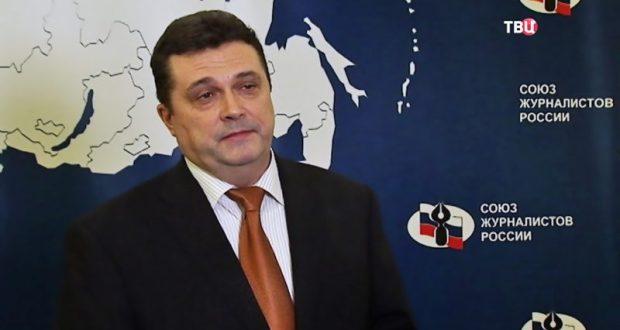 Украина запретила въезд главе Союза журналистов России