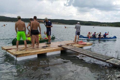В Симферополе прошли соревнования по гребле на байдарках и каноэ