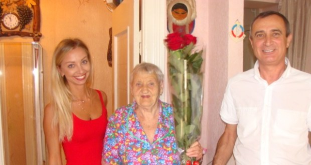 Жительнице южнобережной Алупки исполнился 101 год