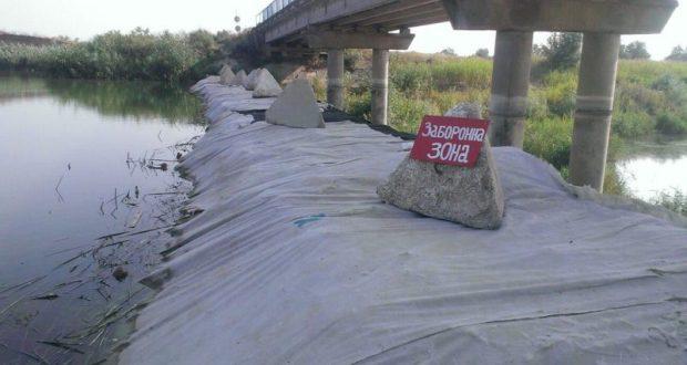Украина рапортует: строительство дамбы на Северо-Крымском канале завершается