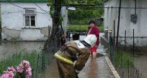 Ливни подтопили крымское село Степное