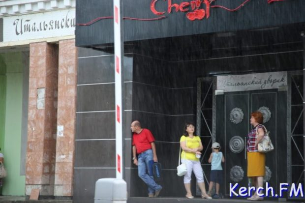 Ливень и потоп в Керчи