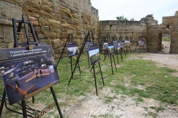 В музее-заповеднике «Херсонес Таврический» завершилась реставрация куртины III в. до н.э.