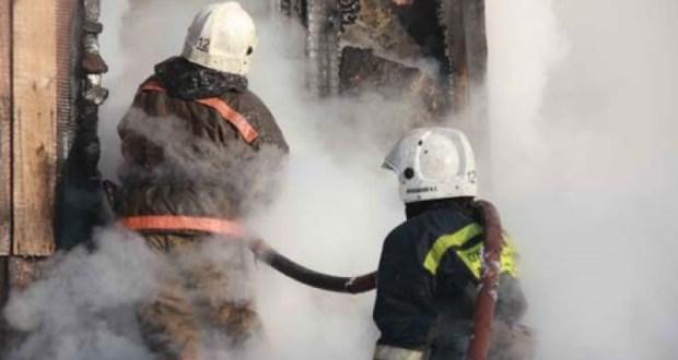 На пожаре в Джанкойском районе Крыма спасен человек