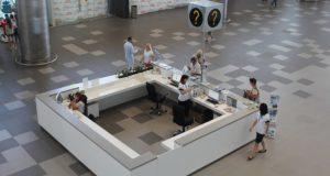 """В новом терминале аэропорта """"Симферополь"""" работает туристско-информационный центр"""