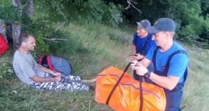 Долетался: спасатели эвакуировали с Южной Демерджи парапланериста