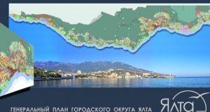 Проект генплана Ялты разместили на сайте - для всеобщего ознакомления