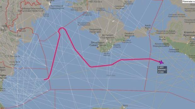 Разлетались тут. И снова разведывательные полеты над Черным морем, у берегов Крыма