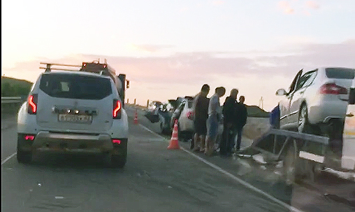 Трое погибших, в том числе почти годовалый ребенок. Ночное ДТП на трассе «Симферополь – Феодосия»