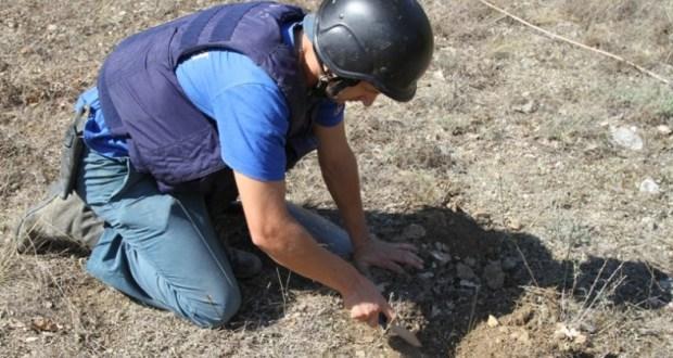 В Первомайском Крыма нашли бомбу времен Великой Отечественной войны