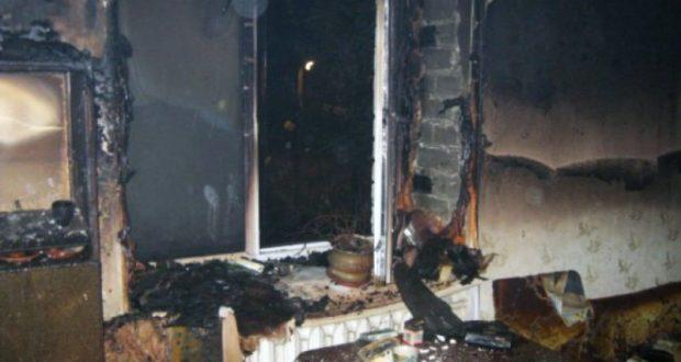 Пожар в Симферопольском районе. Из горящей квартиры спасли пожилого человека