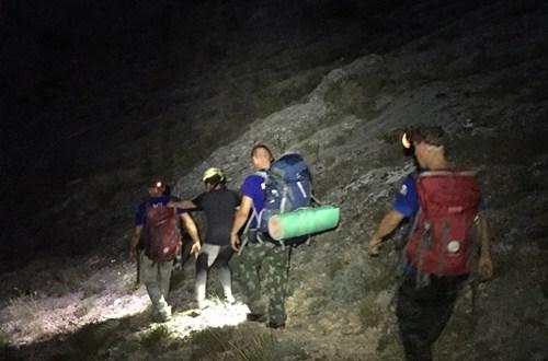 В районе горы «Пандчар-Кая», под Судаком, заблудилась женщина