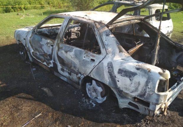 Поджог автомобилей, Байдарская долина