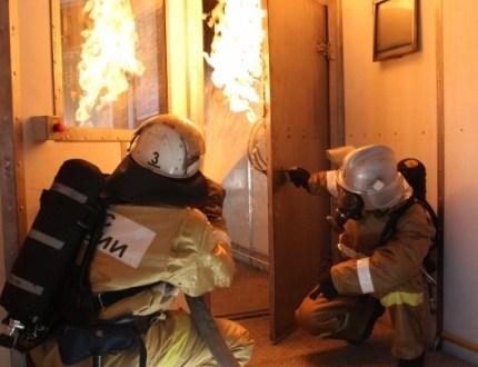 В Евпатории на пожаре спасен местный житель