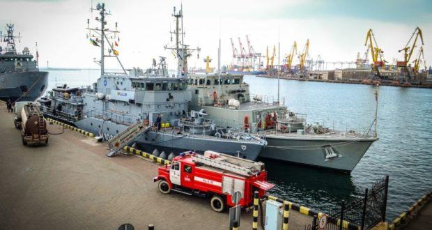 В порту Одессы «прописались» корабли НАТО