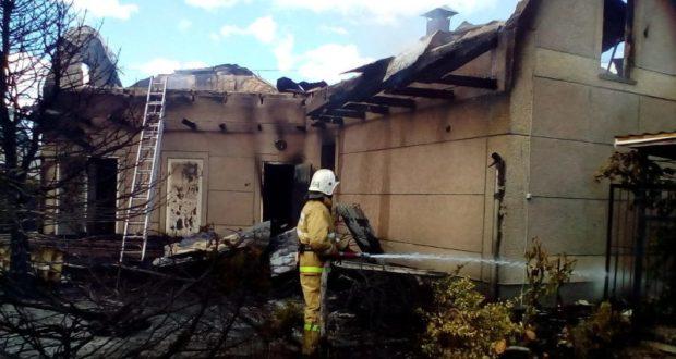 Пятничные пожары в Крыму. В пострадавших - жители сёл Золотое поле и Журавки