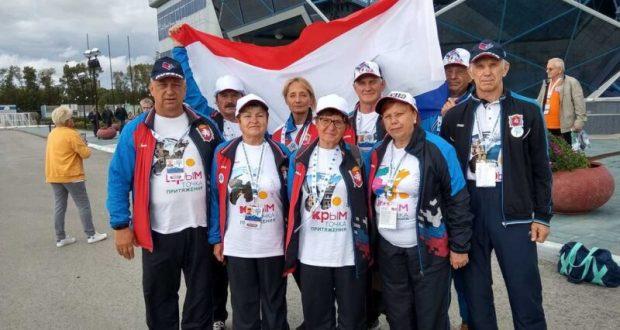 На V Спартакиаде пенсионеров России крымчане заняли 25 место