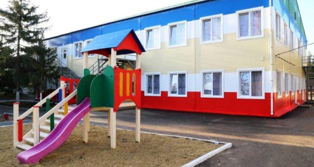 До конца года в Крыму возведут еще два десятка модульных детских садов