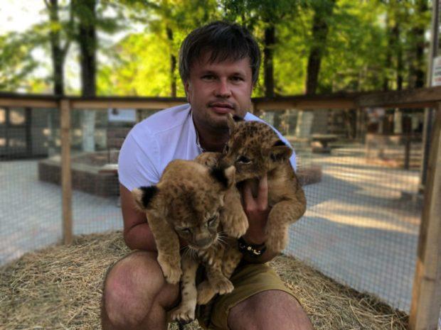 В Бахчисарайском зоопарке поселились львята