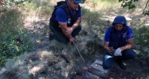 Пиротехники Центра «Лидер» обнаружили более 1500 взрывоопасных предметов в крепости «Керчь»