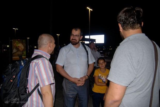 Первая группа крымских паломников вернулась домой