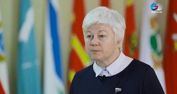 Сенатор от Севастополя Ольга Тимофеева просит учителей школ города показать свои зарплатные расчётки