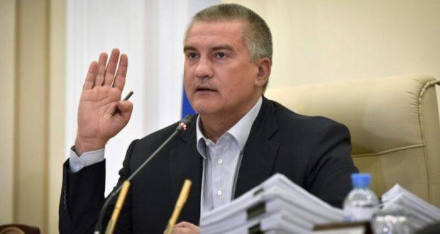 Глава Крыма через украинский суд требует отменить введенные против него санкции