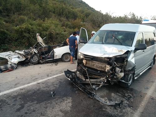 Смертельное ДТП на дороге «Грушевка – Судак»