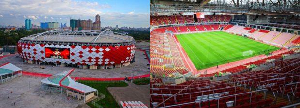 «Спартак» со стадионом «Открытие Арена»