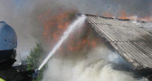 В Джанкойском районе на пожаре спасен мужчина