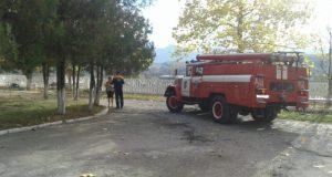 В Бахчисарайском районе Крыма на пожаре погиб человек