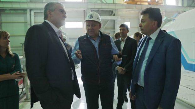 Сергей Аксёнов посетил Таврическую ТЭС в Симферопольском районе