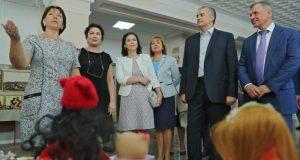 Сергей Аксёнов открыл в Белогорске реконструированный Дом культуры